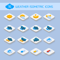 Weather forecast isometric icons buttons set for climate and temperature report vector illustration 60016006093| 写真素材・ストックフォト・画像・イラスト素材|アマナイメージズ