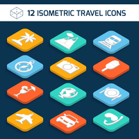 Travel holiday vacation icons isometric white set of palm mountains train isolated vector illustration. 60016006290| 写真素材・ストックフォト・画像・イラスト素材|アマナイメージズ