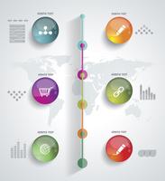 Timeline Infographic. Vector design template.  60016007084| 写真素材・ストックフォト・画像・イラスト素材|アマナイメージズ