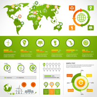 Energy infographics layout design template with eco icons set world map charts and graphs vector illustration 60016007133| 写真素材・ストックフォト・画像・イラスト素材|アマナイメージズ