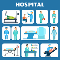 Medical hospital ambulance healthcare services flat pictograms set isolated vector illustration 60016007164| 写真素材・ストックフォト・画像・イラスト素材|アマナイメージズ