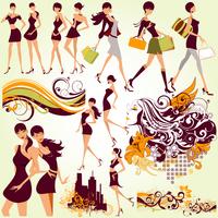 fashion girls 60016007202| 写真素材・ストックフォト・画像・イラスト素材|アマナイメージズ