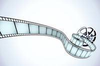 Vector illustrator of movie reel with a strip of exposed frames 60016007923| 写真素材・ストックフォト・画像・イラスト素材|アマナイメージズ