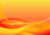 Vector illustration - abstract background made of orange splashes and curved lines 60016007937| 写真素材・ストックフォト・画像・イラスト素材|アマナイメージズ