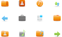 Vector illustration set of elegant simple icons for common computer and media devices functions 60016008092| 写真素材・ストックフォト・画像・イラスト素材|アマナイメージズ