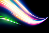 Vector illustration of neon abstract background made of blurred magic color light curved lines 60016009195| 写真素材・ストックフォト・画像・イラスト素材|アマナイメージズ