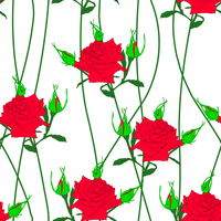 Seamless  background with flower roses. Could be used as seamless wallpaper, textile, wrapping paper or background 60016011094| 写真素材・ストックフォト・画像・イラスト素材|アマナイメージズ