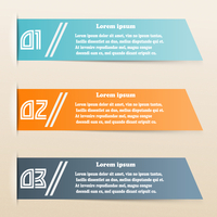Colored paper banners for infographics. Vector illustration 60016013521| 写真素材・ストックフォト・画像・イラスト素材|アマナイメージズ