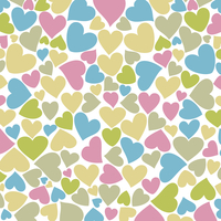 Love background from hearts. A vector illustration 60016023027| 写真素材・ストックフォト・画像・イラスト素材|アマナイメージズ
