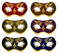Mask5. Set beautiful masks for a carnival. A vector illustration 60016023091| 写真素材・ストックフォト・画像・イラスト素材|アマナイメージズ