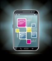 Touchscreen smartphone  60016023997| 写真素材・ストックフォト・画像・イラスト素材|アマナイメージズ