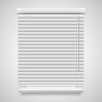 Realistic closed shutters window, front view vector illustration isolated on white 60016027415| 写真素材・ストックフォト・画像・イラスト素材|アマナイメージズ