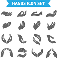 Open empty hands holding protect giving gestures icons set isolated vector illustration 60016028864| 写真素材・ストックフォト・画像・イラスト素材|アマナイメージズ