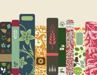 Shelf with books. A vector illustration 60016029674| 写真素材・ストックフォト・画像・イラスト素材|アマナイメージズ