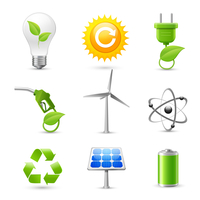 Realistic energy and ecology icons set with fossil gas solar panel and windmill decorative elements isolated vector illustration 60016029727| 写真素材・ストックフォト・画像・イラスト素材|アマナイメージズ