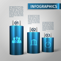 Abstract 3d chart business infographics layout template vector illustration 60016029742| 写真素材・ストックフォト・画像・イラスト素材|アマナイメージズ