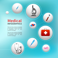 Medical pharmacy ambulance bubble infographic with realistic healthcare icons vector illustration 60016029752| 写真素材・ストックフォト・画像・イラスト素材|アマナイメージズ