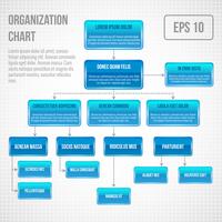 Organizational chart infographic business structure concept  flowchart vector illustration 60016029764  写真素材・ストックフォト・画像・イラスト素材 アマナイメージズ