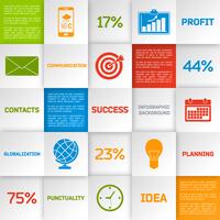 Business infographic globalisation planning idea square elements set isolated vector illustration 60016029809  写真素材・ストックフォト・画像・イラスト素材 アマナイメージズ