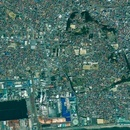 Ishinomaki, Japan, satellite image