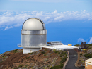 Spain, Canary Islands, La Palma, Observatory at Roque de los Muchachos, Nordic Optical Telescope