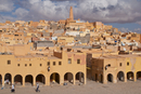View over the town of Ghardaia, Mozabite capital of M