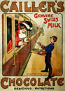 Cailler's Genuine Swiss Milk Chocolate, by Alf Cooke. Leeds