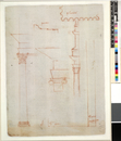 Details of classical architecture. verso. Michelangelo. c.15