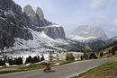Road Racing at Groedner Joch, South Tyrol, Italy MR