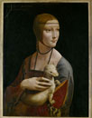 Lady with an Ermine, c. 1490/白てんを抱く貴婦人