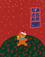 クリスマスイメージのクラフト 00684010199| 写真素材・ストックフォト・画像・イラスト素材|アマナイメージズ