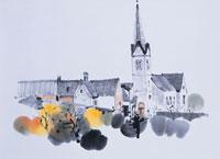 ドイツの秋 イラスト 01432000025| 写真素材・ストックフォト・画像・イラスト素材|アマナイメージズ