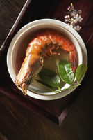VIETNAM, Hue, a dish called Shrimp with five tastes served by Boi Tran at her home in Hue 01510110046| 写真素材・ストックフォト・画像・イラスト素材|アマナイメージズ