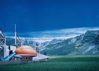 未来基地イメージ 02172010024| 写真素材・ストックフォト・画像・イラスト素材|アマナイメージズ