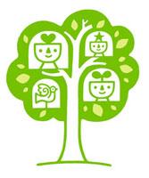 木とキャラクターと鳥 02221000168| 写真素材・ストックフォト・画像・イラスト素材|アマナイメージズ