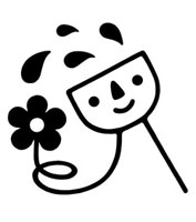 花に水をあげるキャラクター 02221000171| 写真素材・ストックフォト・画像・イラスト素材|アマナイメージズ
