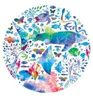 円になる海の生き物たち 02221000223| 写真素材・ストックフォト・画像・イラスト素材|アマナイメージズ
