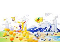 秋から冬へ移り変わる風景 02237003284| 写真素材・ストックフォト・画像・イラスト素材|アマナイメージズ