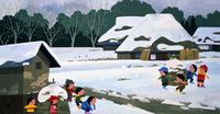 雪合戦をする子供 02237013358| 写真素材・ストックフォト・画像・イラスト素材|アマナイメージズ