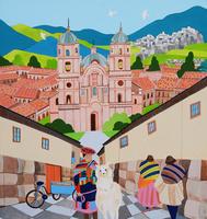 世界遺産ペルー クスコ市街地 02422000081| 写真素材・ストックフォト・画像・イラスト素材|アマナイメージズ