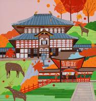 世界遺産 古都奈良 02422000083| 写真素材・ストックフォト・画像・イラスト素材|アマナイメージズ