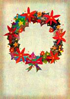 クリスマスリース 02432000162| 写真素材・ストックフォト・画像・イラスト素材|アマナイメージズ