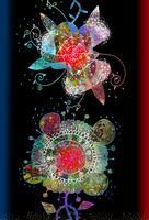 縦2つの花 02432000290| 写真素材・ストックフォト・画像・イラスト素材|アマナイメージズ