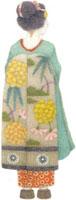 舞妓の後ろ姿 02456000006  写真素材・ストックフォト・画像・イラスト素材 アマナイメージズ