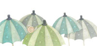 傘とかたつむり 02456000022  写真素材・ストックフォト・画像・イラスト素材 アマナイメージズ