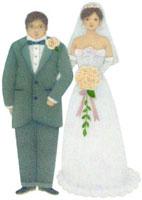 新郎と新婦 02456000027  写真素材・ストックフォト・画像・イラスト素材 アマナイメージズ