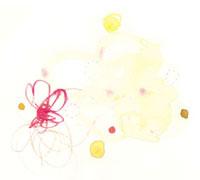 水彩 赤の線と円 02475000004| 写真素材・ストックフォト・画像・イラスト素材|アマナイメージズ
