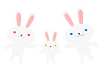 ウサギの家族 02480000002| 写真素材・ストックフォト・画像・イラスト素材|アマナイメージズ