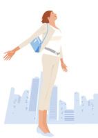都会のビジネスウーマン 02526000202  写真素材・ストックフォト・画像・イラスト素材 アマナイメージズ