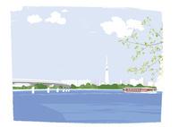 川の風景 02526000255  写真素材・ストックフォト・画像・イラスト素材 アマナイメージズ